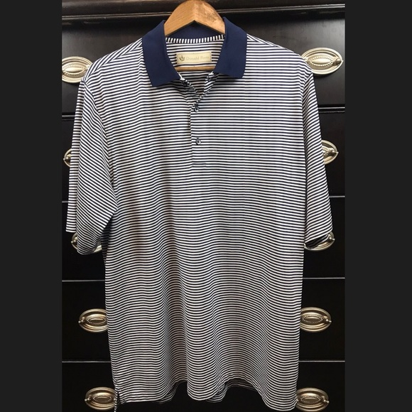 Donald Ross Other - 🎃Donald Ross Mens Striped Golf Polo Ryder Cup